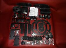 Molded Rubber Kit Deluxe 66 pc - Jaguar, XKE Series III