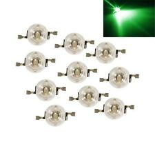 10PCS Green Color High power Bright 1W SMD LED Beads Diode Bulb Light 1Watts
