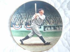 BABE RUTH THE CALLED SHOT DELPHI PLATE BRADFORD EXCHANGE LOW NUMBER #56 G