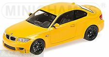 BMW 1er M Coupe E82 - 2011-12 atacama gelb yellow 1:43 Minichamps