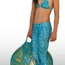 Mahina Mermaid, Mahina  Swimwear, Aqua Merswim Set Age 10. Bikini Leggings
