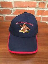 Anheuser Busch St. Louis Brewery Baseball Cap Hat 2001 Worker Safety Blue