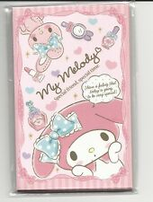 Sanrio My Melody Mini Envelopes Gift Card Holders With Stickers