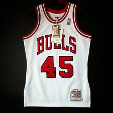 100% Authentic Michael Jordan Mitchell Ness 94 95 Bulls #45 Jersey 36 S - pippen