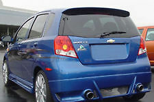 JSP 353001 Chevrolet Aveo Hatchback Rear Spoiler Primed 2007-2011 Factory Style