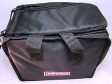 "CRAFTSMAN SEMI-RIGID 12"" TOOL BAG, HOLDS 1-2 TOOLS, BATTERY, CHARGER, MORE - NEW"
