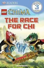 DK Readers: LEGO Legends of Chima: The Race for CHI-ExLibrary