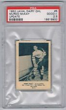 1952 Laval Dairy QHL Update Hockey Card Quebec Aces Murdo McKay Graded PSA 2.5