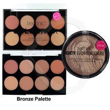 Technic Colour Fix Bronze Foundation Palette & Get Gorgeous Bronzing Powder Duo