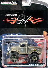 GREENLIGHT 51013 STACEY DAVID'S GEARZ 1941 MILITARY 1/2 TON 4X4 SGT.ROCK 1/64