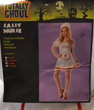 SASSY NURSE Womens HALLOWEEN Costume-DRESS ONLY-Sz Large- NEW WITH TAG