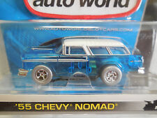 AUTO WORLD ~ '55 Iced Chevy Nomad ~ SOLD OUT Everywhere ~ ALSO FITS AFX, AW, JL