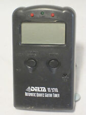 DELTA DT 9700 AUTOMATIC QUARTZ GUITAR TUNER * missing battery cover, some wear