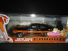 Greenlight Ford Mustang II Cobra II 1978 Black 1/18 Limited Edition