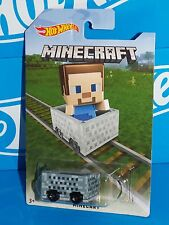 Hot Wheels 2016 MINECRAFT Minecart Special Release Board STEVE Target Exclusive
