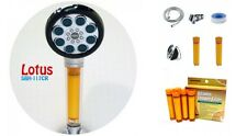 SONAKI SBH-117CR LOTUS HANDHELD VITAMIN C SHOWER FILTER + 5 EXTRA FILTERS **