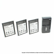 3 x 3500mAh Battery for Samsung Galaxy Mega 6.3 i9200 I9205 I9208 Charger