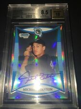 2008 Bowman Chrome Draft Mike Giancarlo STANTON auto refractor 500 BGS 8.510
