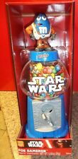 STAR WARS POE DAMERON M&M CANDY DISPENSER with M&Ms CANDY INSIDE NEW IN THE BOX