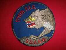 USAF 175th FIGHTER INTERCEPTOR SQUADRON South Dakota Air National Guard Patch