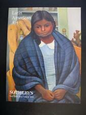LATIN AMERICAN ART - SOTHEBY'S NEW YORK 1999