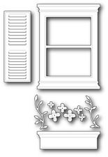 "Poppystamps 1139 ""Large Madison Window Set"" 100% Steel Craft Die"