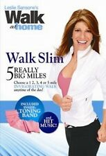LESLIE SANSONE : WALK SLIM :5 REALLY BIG MILES - DVD - UK Compatible - sealed