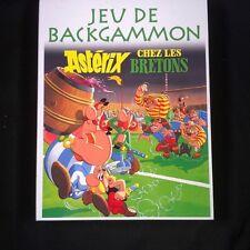 ASTERIX : ASTERIX CHEZ LES BRETONS - JEU DE BACKGAMMON