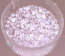 1.00 carat lot of Loose Round Brilliant Diamonds 1.9 mm diameter 0.03 ct, G SI