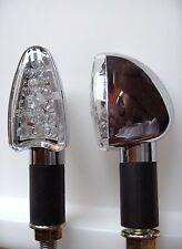 ►2X LED CHROM SPEAR MINIBLINKER SUZUKI GSF1200/S/SA,GSX-R1000,GS 650 G,350 Goose
