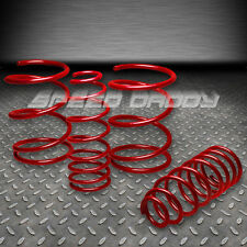"1.4"" DROP SUSPENSION LOWERING SPRINGS/SPRING 00-05 TOYOTA CELICA GT/GTS 1.8L RED"