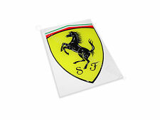FERRARI OFFICIAL EMBLEM CAVALLINO AUFKLEBER DECAL LOGO BADGE 3D 10CM