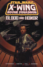 X-Wing Rogue Squadron: Blood and Honour (Star Wars), Good Condition Book, Hall,