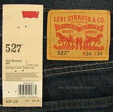 Levis 527 Jeans Mens New Slim Boot Cut Size 34 x 34 OVERHAUL Levi's #488