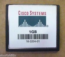CISCO MEM-C6K-CPTFL1G 1GB *GENUINE* CF COMPACT FLASH FOR CATALYST 6000 6500 6509