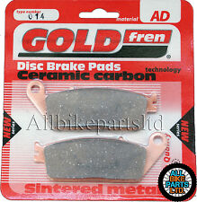 Honda SWT 400 Rear Sintered Brake Pads 2009 Onwards - Goldfren - SWT400 SWT-400