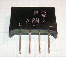 Baneasa 3PM2 3A200V single phase bridge rectifier Lot-2pcs