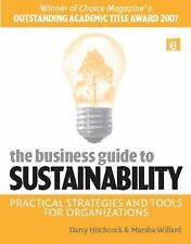 The Business Guide to Sustainability: Practical Strategies and Tools f-ExLibrary