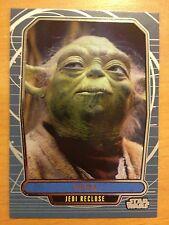 2013 Star Wars Galactic Files 2 #490 Yoda Jedi Recluse Mint