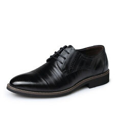 Men's Dress Formal Oxfords Leather shoes Business Casual fashion Leisure Shoes