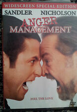 Anger Management (DVD, 2003, Widescreen Special Edition)
