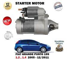 Per FIAT GRANDE PUNTO 1.2 1.4 8v 2005-12/2011 nuova unità motore di avviamento