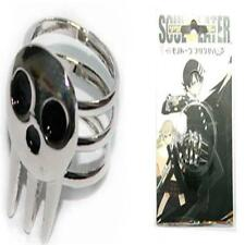1pcs New Cute Soul Eater Death The Kid Rings Silver For Anime Cosplay AC