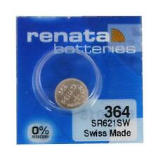 Renata 364 (SR621SW) Swiss Made Watch Battery Brand New
