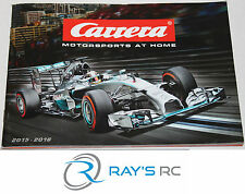 Carrera Slot Car Catalog 2015 - 2016 Digital 124 132 143 Evolution Go Cars Sets!