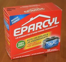 EUROPE'S No.1 SELLER. EPARCYL SEPTIC TANK TREATMENT. KEEPS TANKS CLEAN & FRESH