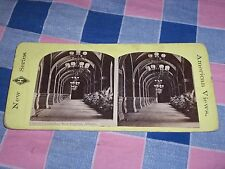 Old Stereoview New H Series New York City Grand Corridor New Capital Albany