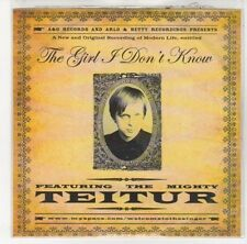 (DL705) Teitur, The Girl I Don't Know - 2009 DJ CD