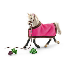 ARAB MARE WITH BLANKET by Schleich; NEW 2016 model/horse/toy/41447