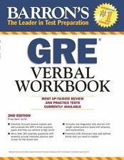 Barron's GRE Verbal Workbook by Philip Geer (2014, Paperback, Revised)